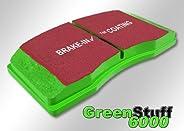 EBC DP61707 Greenstuff Rear Pads - Nissan Armada, Titan (03&g