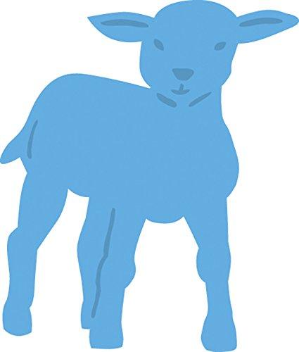 Marianne Design Creatable Cavallino a Dondolo, Metal, Blu, 6.6x6.2x0.4 cm