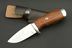 ED MAHONY Jagdmesser Cocobolo Hunter, 440c