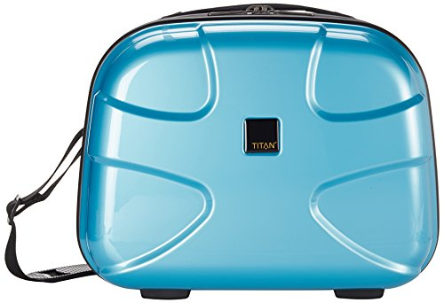 TITAN Koffer X2, Beauty Case, Shining Sea 39 cm 22 Liters Blau 813702-83
