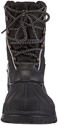Spirale  9922 GEVOERDE LAARS, Bottes de neige de hauteur moyenne, doublure chaude mixte adulte Noir - Schwarz (schwarz (zwart) 00)