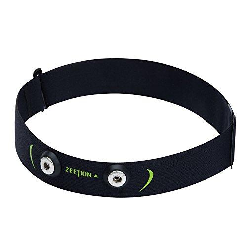 Herzfrequenz-monitor Sender (threecat soft-strap Brustgurt Verstellbare elastische Chest Mount Gurtband Bands für Sport Running Herzfrequenz Monitor)