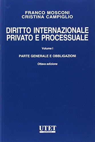Diritto internazionale privato e processuale: 1