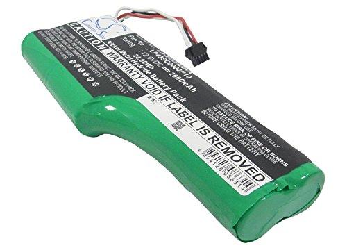 techgicoo 2000mAh/24Wh Akku kompatibel mit Staubsauger-Roboter Deebot D520, Deebot D526, T3, T5