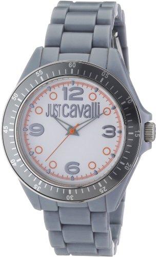 Just Cavalli Time R7253113045 - Reloj Analógico Para Hombre, color Blanco/Gris