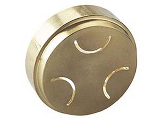 Trafila Orecchiette realizzata in Bronzo opzionale Torchio Pasta per Planetarie e Cooking Chef/Major/kMix Kenwood