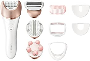 Philips Satinelle BRE650/00 Prestige Wet and Dry epilator