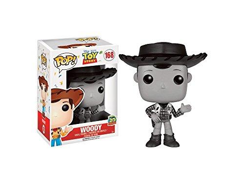Funko - Figurine Disney Toy Story - Woody 20th Anniversaire B&W Pop 10cm - 0889698118897