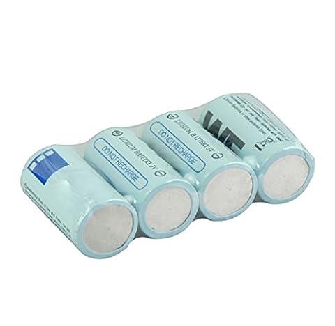 Ularma 4×16340 CR123A Batterie 3V