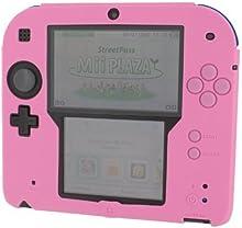 ZedLabz soft silicone gel protective cover rubber bumper case for Nintendo 2DS (Pink) [Importación Inglesa]