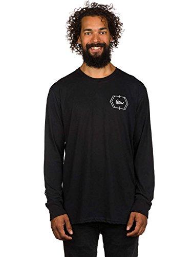Herren Langarmshirt Imperial Motion Cluster Carbon Cool T-Shirt Black