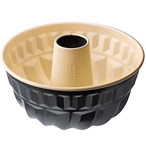 KAISER Cake Pan Ø 22 cm Living Very Good Non-Stick Coating Attractive Two-Colour Design Even Browning Through Optimal Heat Conduction