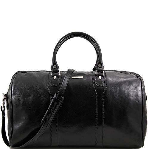 Tuscany Leather Oslo Sac de voyage en cuir Noir