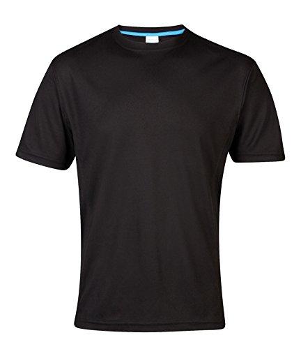 JC011 AWDis Just Cool Supercooler performance T-Shirt Sport Tiefschwarz