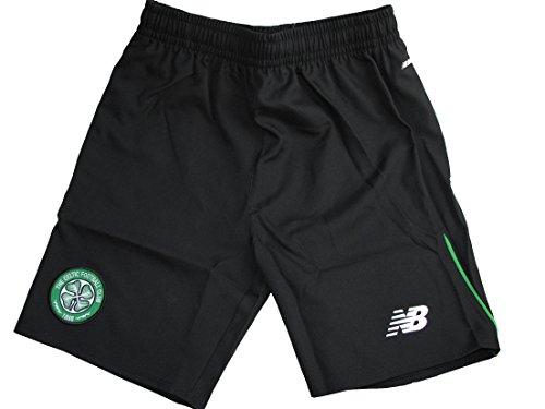 celtic-fc-new-balance-childrens-black-woven-football-training-shorts-2015-16-mb-23-24-waist-8-9-yrs