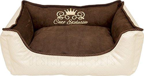 Design Luxus Royal Bed Hundebett Hundekorb Bett Korb Tierbett Hund Hundekissen Hundematte Gr. M
