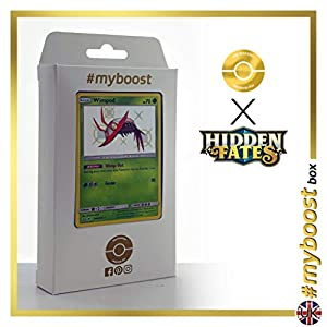 Wimpod SV4/SV94 Variocolor - #myboost X Sun & Moon 11.5 Hidden Fates - Box de 10 cartas Pokémon Inglesas