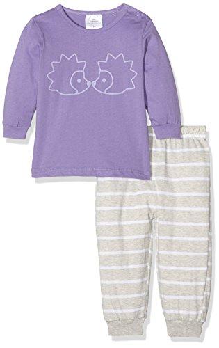 Twins Baby-Mädchen Zweiteiliger Schlafanzug Igel, Mehrfarbig (Mehrfarbig 3200), 86
