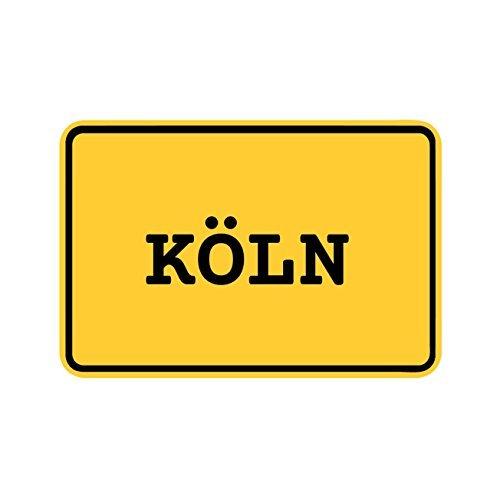 Preisvergleich Produktbild JOllify Aufkleber - KÖLN – Farbe: Design: Ortsschild