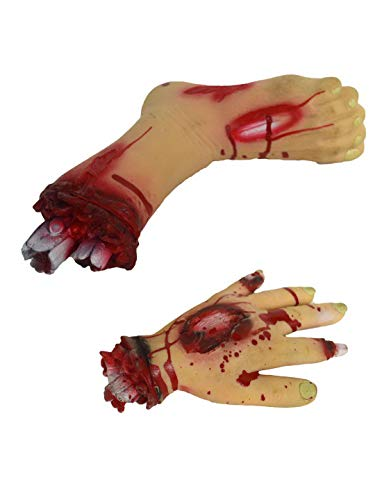 Abgetrennter Zombie Fuß - toybakery - Halloween Dekoration Deko abgetrennter