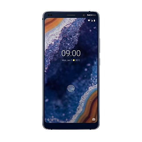 "Nokia 9 Pure View, Smartphone (Pantalla QHD 5,99"", 18;9; 6GB /128GB Snapdragon 845, Cinco cámaras 20 Mpx + 12 Mpx + 12 Mpx + 12Mpx + 12 Mpx), Azul"