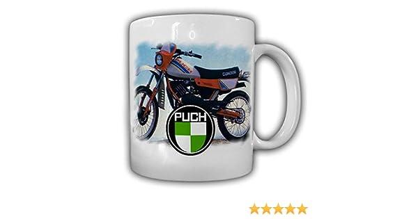Tasse Puch Condor Motorradbekleidung Motorradzubehör Motocross #24140