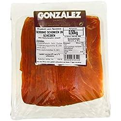 Gonzalez Serrano Schinken in Scheiben - ETG Jamón Serrano - 1er Pack (1 x 500 g)