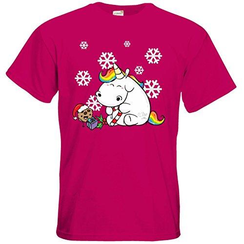 getshirts - Pummeleinhorn - T-Shirt - X-Mas Sorbet