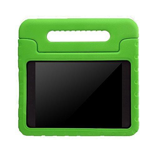 Preisvergleich Produktbild Kinder Hülle für Samsung Galaxy Tab A 7.0, CAM-ULATA EVA Stoßfest Leichtgewicht Kinderfreundlich Griff Schutzhülle Standhülle für Samsung Galaxy Tab A 7 Zoll Tablette 2016 Release, Grün