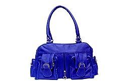 Pixma womens violet synthetic stylish handbag