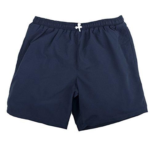 Abraxas Pantalones Cortos baño Jim Azul Marino Oversize