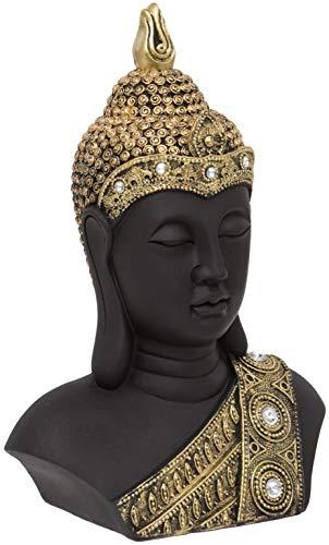 Maturi - Cabeza de Buda Dorada con Detalles de Diamante – 27 cm