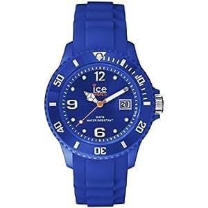 ICE-Watch - Ice-Forever Trendy - Dazling Blue - Unisex - Montre Mixte Quartz Analogique - Cadran Bleu - Bracelet Silicone Bleu - SI.DAZ.U.S.14