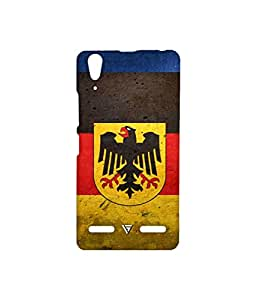Vogueshell Sign And symbol Printed Symmetry PRO Series Hard Back Case for Lenovo A6000