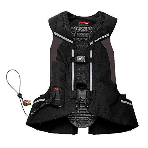 Airbag Motorrad Spidi Full DPS Vest mit Mechanismus der Aktivierung Kabel in keramide L schwarz
