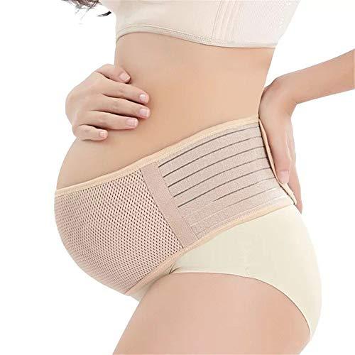AXAXA Mutterschaft Gürtel Schwangerschaft Unterstützung Gürtel Bump Band Beckengürtel Entlasten Rücken/Becken/Iliosakralschmerzen (2free Größe) -