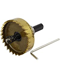Tradico® 48mm Cutting Dia HSS Triangle Shank Toothed Twist Drill Bit Hole Saw