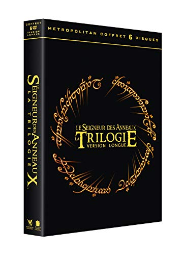 Coffret trilogie le seigneur des anneaux version longue, 3 films