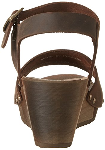 Sanita - Olisa Wedge Flex Sandal, Sandali Donna Braun (Antique Brown)