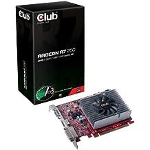 CLUB3D Radeon R7 250 AMD Radeon R7 250 2GB - Tarjeta gráfica (Activo, ATX, Windows 7 Enterprise, Windows 7 Enterprise x64, Windows 7 Home Basic, Windows 7 Home Basic x64, Wind, AMD, Radeon R7 250, GDDR3)