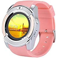 Igemy Smart Armbanduhr Blooteeth 3.0 mit Funktion MP3 丨 MP4 丨 Schrittzähler 丨 BT Calling 丨 SMS