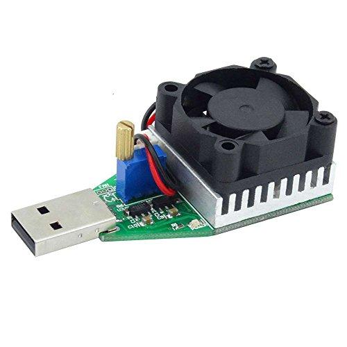 Rokoo Last Tester Board USB 0.15-3A Einstellbare Modul Ladegerät Detektor Alterung Gerät Intelligente Entladung Widerstand (Fan Entladung)