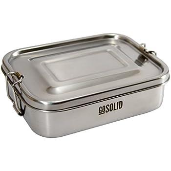 ecolunchbox three in one 3 teilige brotdose aus edelstahl lunchbox bento box. Black Bedroom Furniture Sets. Home Design Ideas