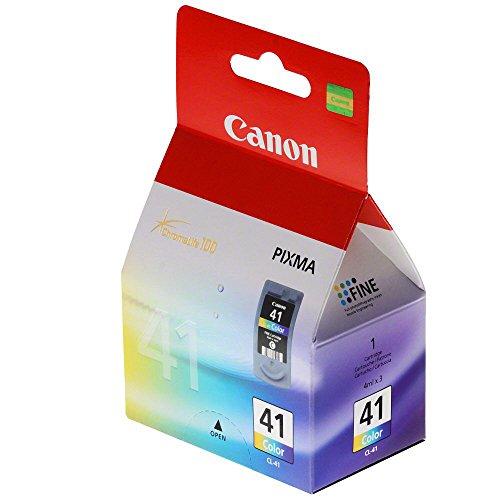 Canon Tintenpatrone CL-41, farbig, 0617B001 Kompatible Produkte: PIXMA iP1600, PIXMA iP1700, PIXMA iP1800, PIXMA iP2600, PIXMA iP2600 Refurbished, PIXMA iP6210D, PIXMA iP6220D, PIXMA iP6310D Ref - 6320 Pixma