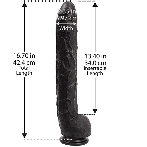 DOC JOHNSON Dick Rambone schwarz 1er Pack - 2