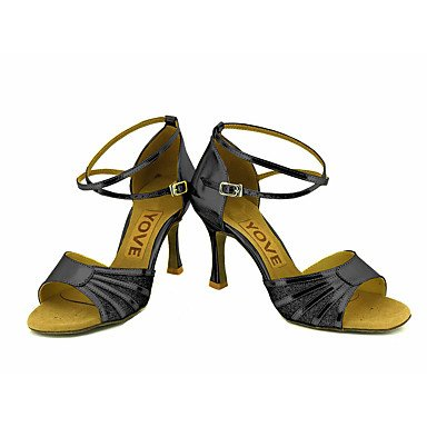 XIAMUO Anpassbare Frauen Beruf Tanz Schuhe Rot