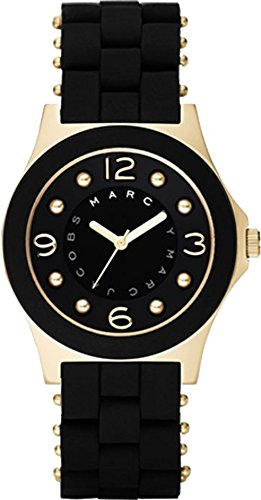 Marc Jacobs Women's Quartz Watch with different materials MBM2540