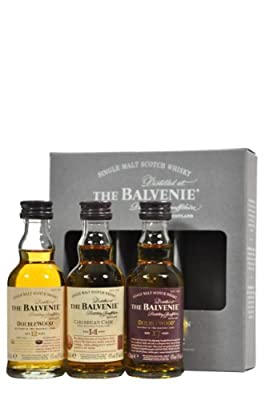 Balvenie Miniature Single Malt Whisky Box Set (contains 3 x 5cl Bottles)