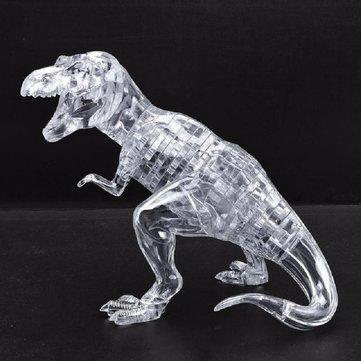 3D 50PCS Dinosaur Crystal Blocks Puzzle to Hold Blocks