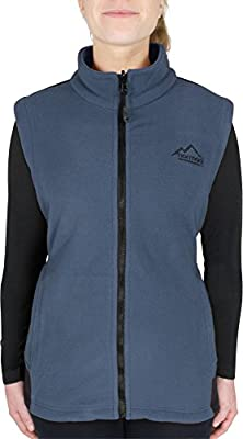 normani Damen Fleece Weste mit Reißverschlusstaschen Bodywarmer mit ZIP-T3K System von normani - Outdoor Shop